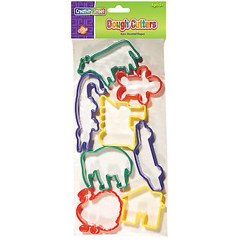 Creativity Street Dough Cutters 8 Pkg Set 3 9766