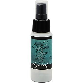 Timbre Gang Starburst Spray de Lindy 2Oz bouteille Tainted Love Teal Sbs 15