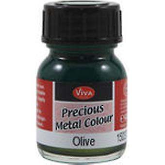 Viva Decor Precious Metal Color 25Ml Pkg Olive Vvpmc 3704