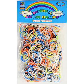 Loom Band Stripe Patterned Loom Band Type 03
