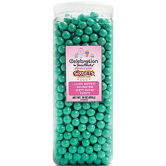 Celebrations By SweetWorks Sixlets(R) 30oz-Shimmer (TM) Turquoise CSX94615