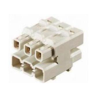 Wieland 93.010.0153.0 Distributor Block - 1 Input/5 Outputs Cross section 2.5 mm² White