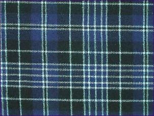 Clergy Blue, Modern - Pure Wool Tartan