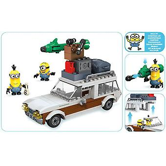 Megabloks Minions Escape In The Flying Car (Toys , Constructions , Vehicles)