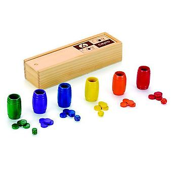 Cayro Parchis-Oca Wood 6 mult. (Kids , Toys , Table games , Strategy)