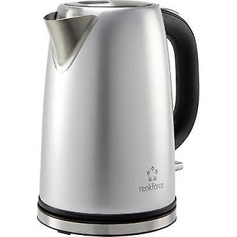 Kettle cordless Renkforce KE7465 Stainless steel