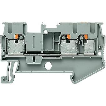 Push-In three wire terminals PIT-TWIN PIT 2.5-TWIN Grey Phoenix Contact