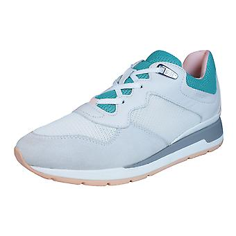 Geox D Shahira B Womens Trainers / Shoes - Off White