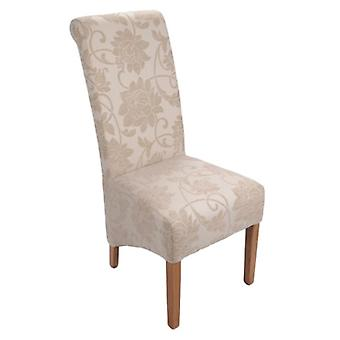 Tia Solid Oak Upholstered Chair - Color Selection - Assembled
