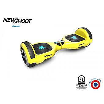 hoverboard spinboard © classic sunny yellow