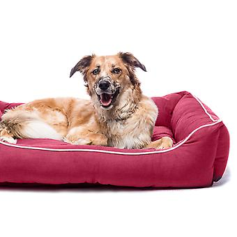 Dog Gone Smart Lounger Bed Berry  66x61cm
