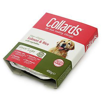 Collards Senior laks ris & Veg 400g (pakke med 10)
