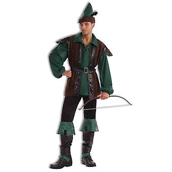 Robin Hood Thieves Hero Medieval Men Costume STD