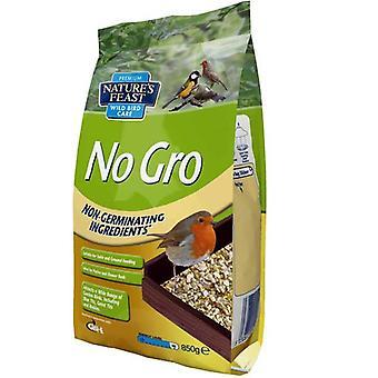 Natures Feast No Gro Wild Bird Food 850gm (Pack of 4)
