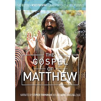 Gospel Of Matthew Dvd
