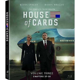 House of Cards: The Complete Third Season [BLU-RAY] USA import