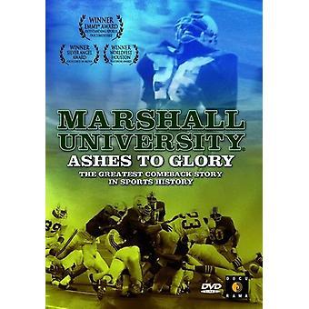 Marshall University: Aske til herlighed [DVD] USA importerer