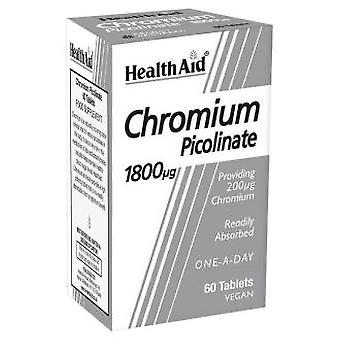 Health Aid Chromium Picolinate 60COMP. Health Aid