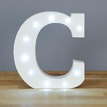 LED letter - Yesbox lights letter C