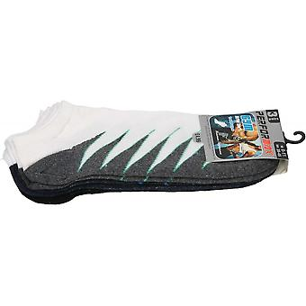 Performax Mens Soft Cotton Gym Active Trainer Ankle Socks