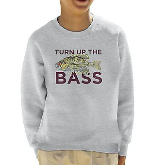 Turn Up The Bass Kid's Sweatshirt