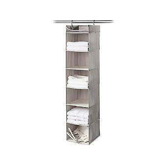 Neatfreak 6 Shelf Organizer with Top Shelf - Harmony Twill (Gray)