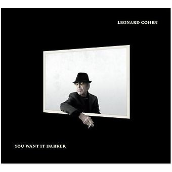 Leonard Cohen - You Want It Darker [CD] USA import