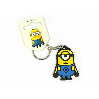 Despicable Me Official Minions Stuart PVC Keyring