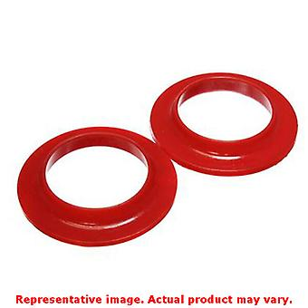 Energy Suspension Coil Spring Isolator Set 9.6108R Red Fits:UNIVERSAL 0 - 0 NON