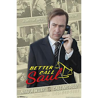 Better Call Saul - Collage Poster Poster Print