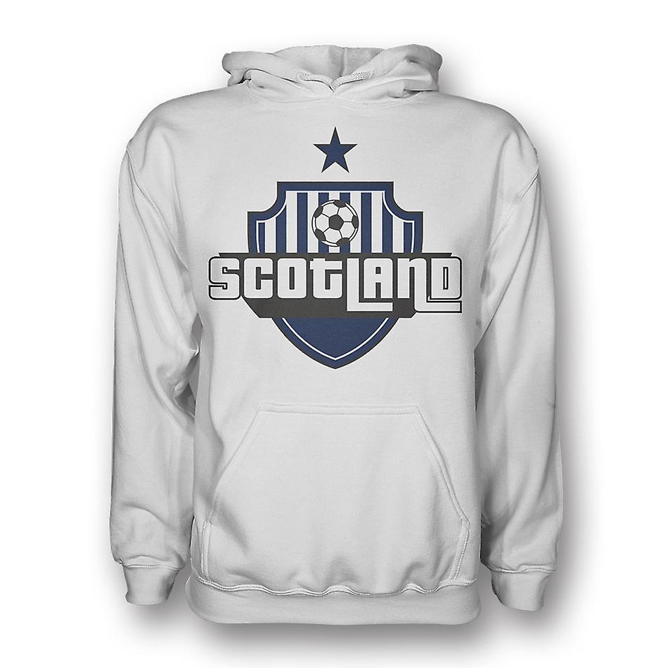 Scotland Country Logo Hoody (white)