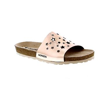 Mephisto Nora Star - Old Pink (Rose Gold) Womens Sandals