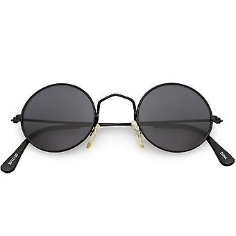 Правда Винтаж небольшой тонкий кадр круг очки нейтральных цветные линзы 42 мм