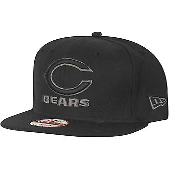 New era 9Fifty Snapback Cap - Chicago Bears black / grey
