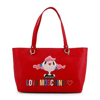 Love Moschino Women Shopping bags Red