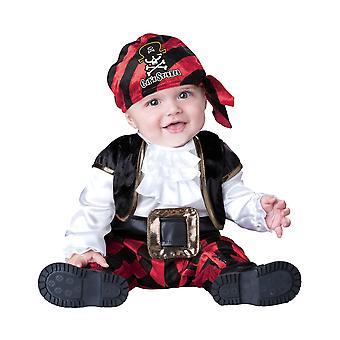 Kaptajn min pirat Baby drenge spædbarn kostume