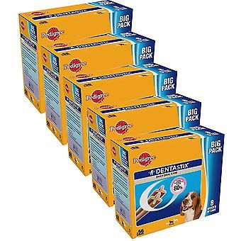 Dentastix Leckereien für mittelgroße Hunde 56pack x 5 (280-Sticks)