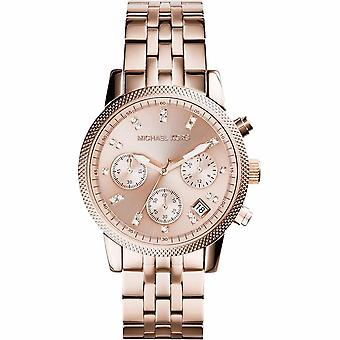 Michael Kors Ladies Ritz Chronograph Watch MK6077