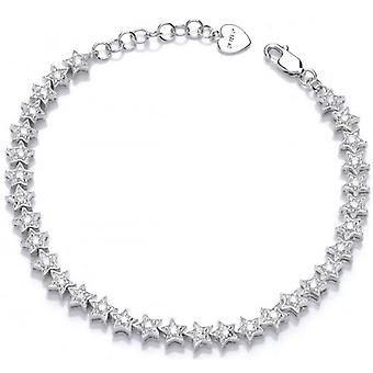 Cavendish French Twinkle Twinkle Little Star Bracelet - Silver