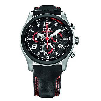 Heren horloge Co135. BI1LBK/R dekken