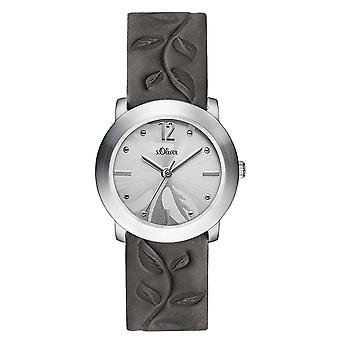 s.Oliver women's watch wristwatch leather SO-3316-LQ