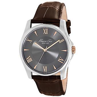 ケネス ・ コール ニューヨーク男性手首腕時計アナログ クオーツ革 KC1995