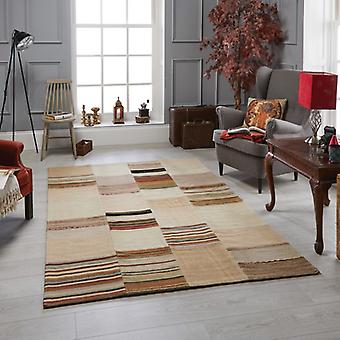 Navajo Beige  Rectangle Rugs Traditional Rugs