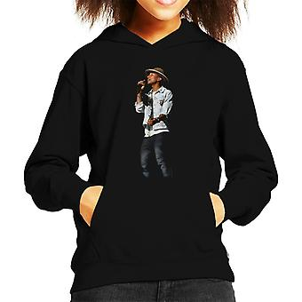 Pharrell Williams Wireless Festival 2014 Kid's Hooded Sweatshirt