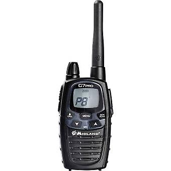 Midland G7 Pro Single C1090.08 LPD/PMR handheld transceiver