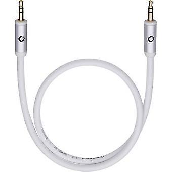 Cable de Jack Audio/RCA Oehlbach [1 x conector Jack 3,5 mm - 1 x conector 3,5 mm] 3 m negro oro conectores, base de la OFC