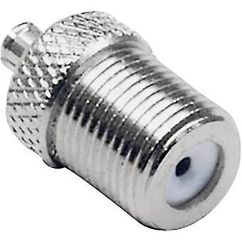 MCX adapter MCX plug - F socket BKL Electronic 0416301 1 pc(s)