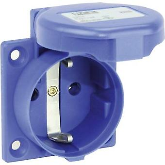 PCE 105-0bw Add-on socket IP44 Blue