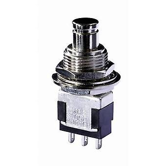 Knitter-Switch MPG 106D Druckknopfschalter 250 V AC 3 1 X On/On Klinke 1 PC