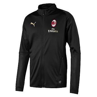 2018-2019 AC Milaan Puma bijhouden jas (zwart)